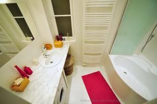 Rekonstrukce koupelny v bílé