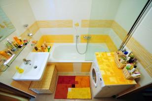 Rekonstrukce WC a koupelny v panelovém domě