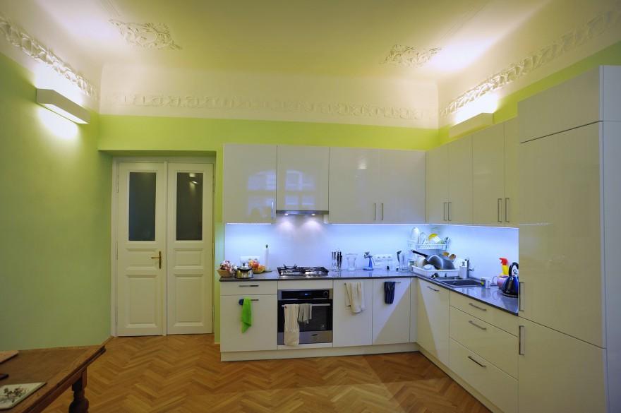 Rekonstrukce secesní kuchyně