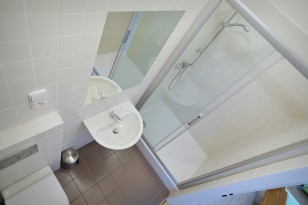 Sprchový kout v pokoji pro hosty